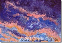 Impressionist Sunset - Tricia Griffith