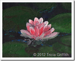 Impressionist Water Lily
