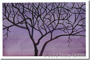 Tree at Dusk - Tricia Griffith