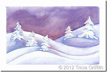 Winter Dawn - Tricia Griffith