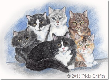 Karen's Cats - Tricia Griffith
